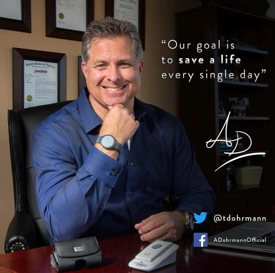 Anthony Dohrmann - Founder of LaserShield & Electronic Caregiver